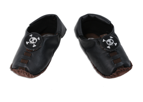Shupeas - Black Skull - 4 Sizes in One Shoe