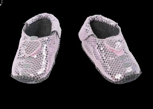 Shupeas - Light Pink Heart Sequins