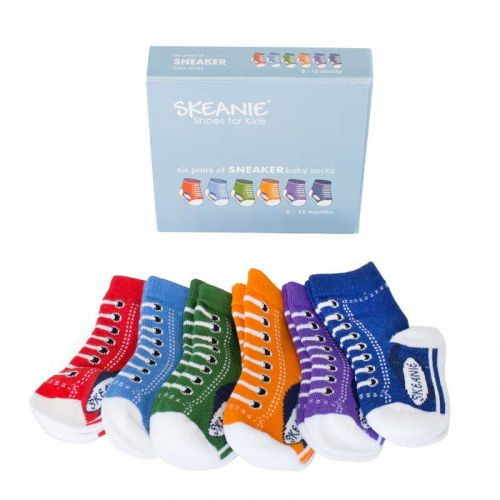 Skeanie Baby Socks Pack - Sneakers