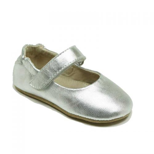 SKEANIE - Lady Jane - Prewalker Baby Shoes - Silver