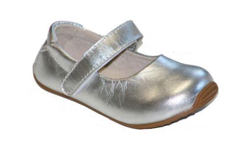 SKEANIE Mary Janes - Junior - Silver (New Sizing)