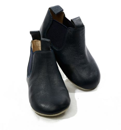 Skeanie Riding Boots - Soft Sole - Navy