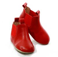 Skeanie Riding Boots - Soft Sole - Red