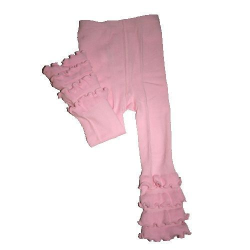 SKEANIE Tights - Ruffle - Pink - Footless