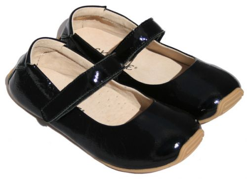 SKEANIE Mary Janes - Junior - Patent Leather - Black
