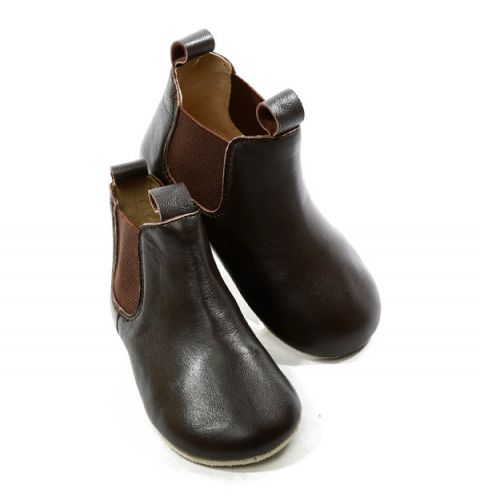 Skeanie Riding Boots - Soft Sole - Chocolate (only medium left)