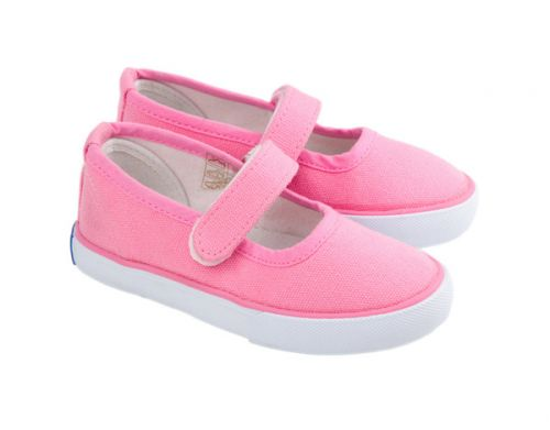 Skeanie Canvas Mary Jane - Pink