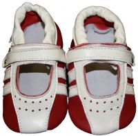 SKEANIE Sporty Sandals - Soft Sole - Red