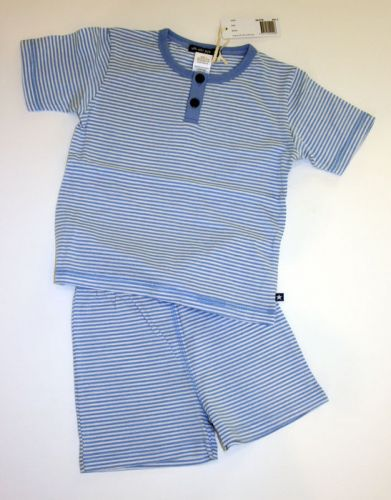 Summer Blue Striped PJs (Sizes 5 & 6)