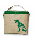 So Young Cooler Bag - Green Dinosaur