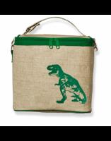 So Young Cooler Bag - Green Dinosaur