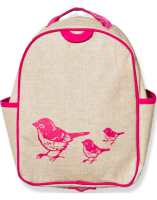So Young Toddler Backpack - Pink Birds
