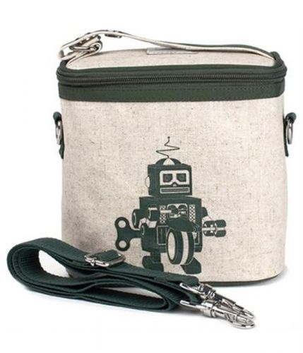 So Young Cooler Bag - Green (Khaki) Robot