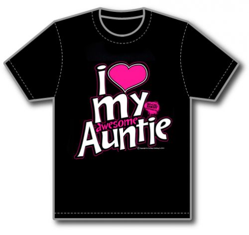 I Love My Awesome Auntie Tee
