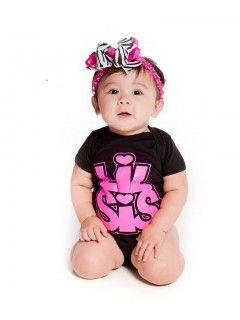 Lil Sis Onesie ( sizes 6 &12 months)