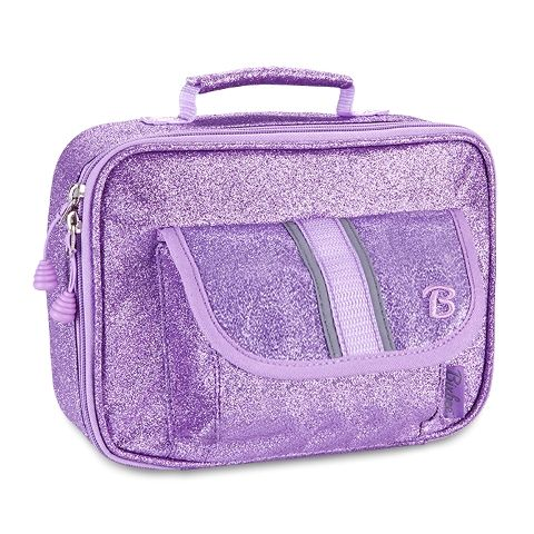 Sparkalicious Glitter  Kids Insulated Lunchbox - Purple