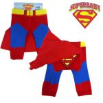 Superman  Baby Leggings/Tights with Cape (Sizes up to 12 months)