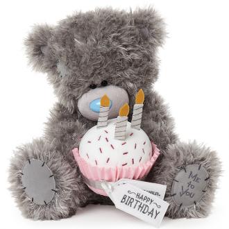 MTY SIGNATURE Happy Birthday Cupcake Bear