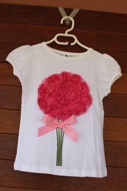 Rosie Posie T-shirt (only 1 left:5-6 years)