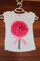 Flower Posie T-Shirt (only size 5-6 years left)