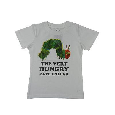 The Very Hungry Caterpillar T-Shirt - White (Last ones left - Size 6)