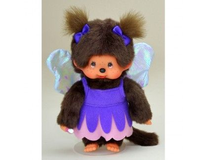 Monchhichi - Purple Fairy Girl