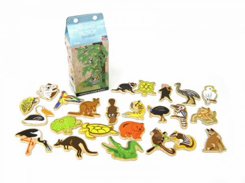Milk Carton Magnetic Australian Animals