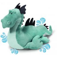 Bath Toy Dragon - Blue Sea Monster - Plush