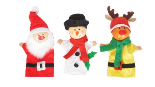 Christmas Finger Puppets - Single
