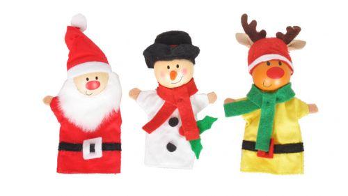 Christmas Finger Puppets - Single