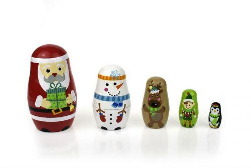 Christmas Nesting Dolls
