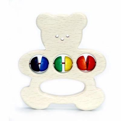 Baby Grasping Toy Bear Rattle - Hess-Spielzeug