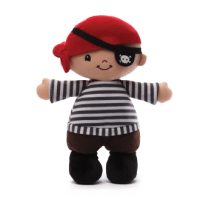 Lil Matey Pirate Doll Plush Toy