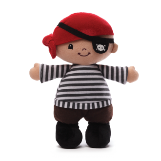 Lil Matey Pirate Doll Plush Toy