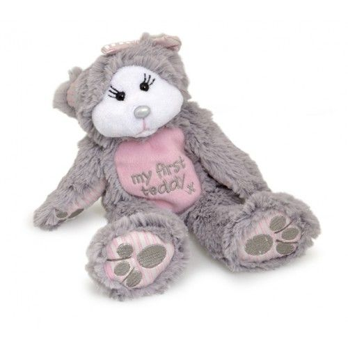 Charlotte - My First Teddy - Beanie Kid Pink