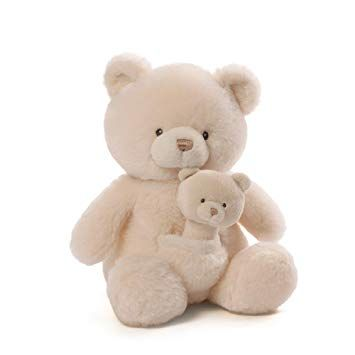 Oh So Soft Bear and Baby Bear Rattle