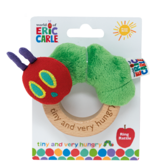 Very Hungry Caterpillar Ring Rattle