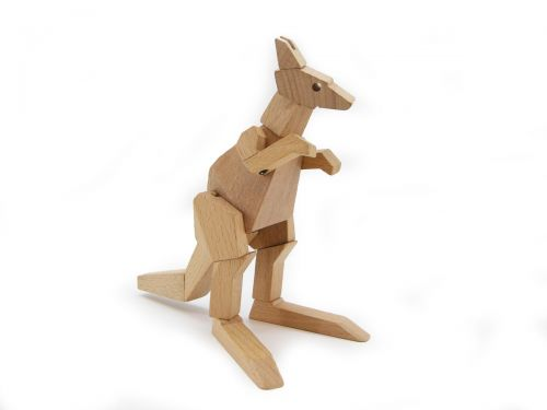 Wooden Flexi Kangaroo