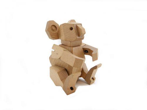 Wooden Flexi Koala