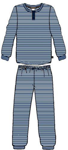 Grandpa Pyjamas Navy Stripe (sizes 3 & 4)