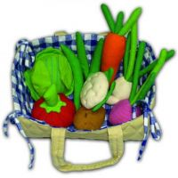 Fair Trade Fabric Vegetable Basket