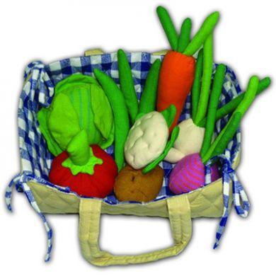 Fair Trade Fabric Vegetable Basket
