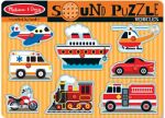 Vehicles Sound Puzzle - Melissa & Doug