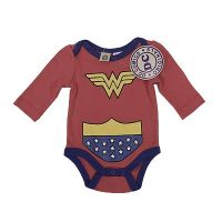 Wonder Woman long sleeve bodysuit/costume