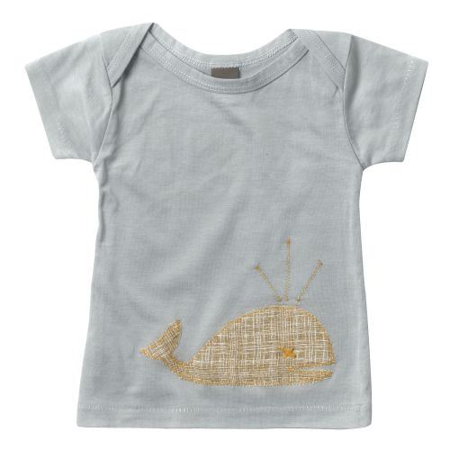 Zebi Baby Whale Organic Cotton S/Sleeve Tee