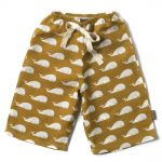 Zebi Baby Whale Linen Lounge Pants (Sizes 3 and 6 mths)
