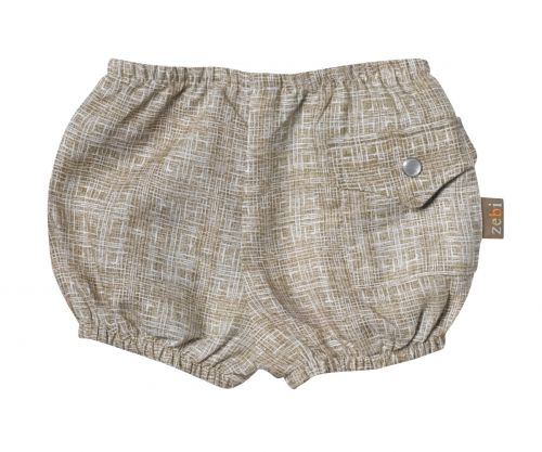 Zebi Baby Cross Hatch Nappy Cover/Shorts (Only 3mths size left)
