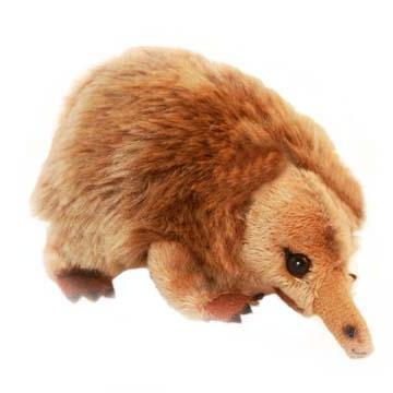 mini creepy echidna toy