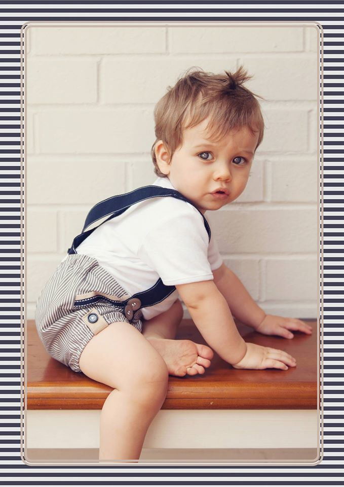 Love Henry Boys Playsuit | Baby Boys Clothes Online | Not Another Baby Shop