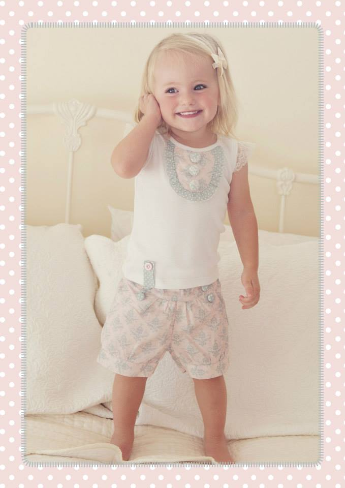Love Henry Elsie Lucy Shorts Demask | Little Girls Clothes | Not Another Baby Shop